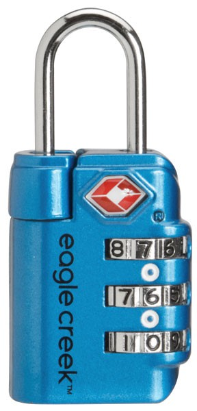 brilliant blue - Eagle Creek TSA Travel Safe Lock