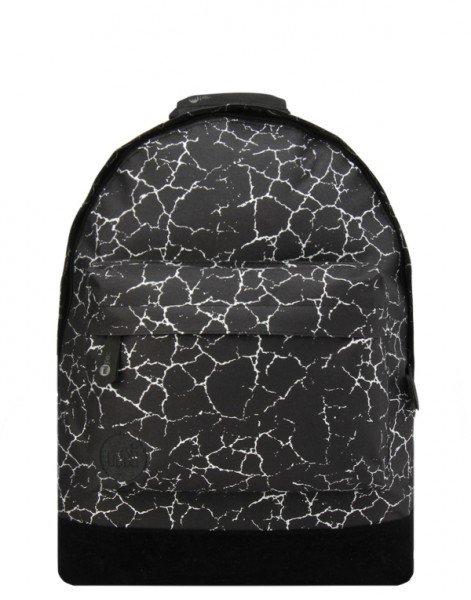 black-silver - Mi-Pac Backpack Cracked