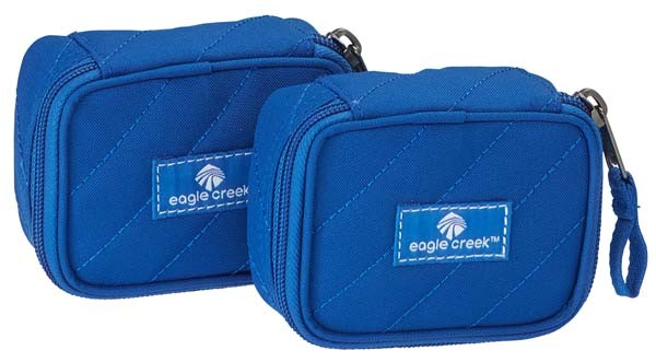 blue sea - Eagle Creek Pack-It Quilted Mini Cube Set