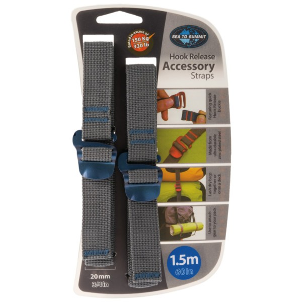 Sea to Summit Accessory Strap 20 mm - Hook Release 1,5 m