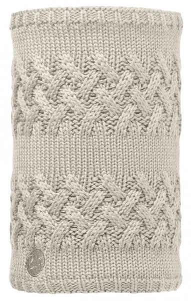 cream - Buff Lifestyle Knitted und Polar Fleece Neckwarmer Savva